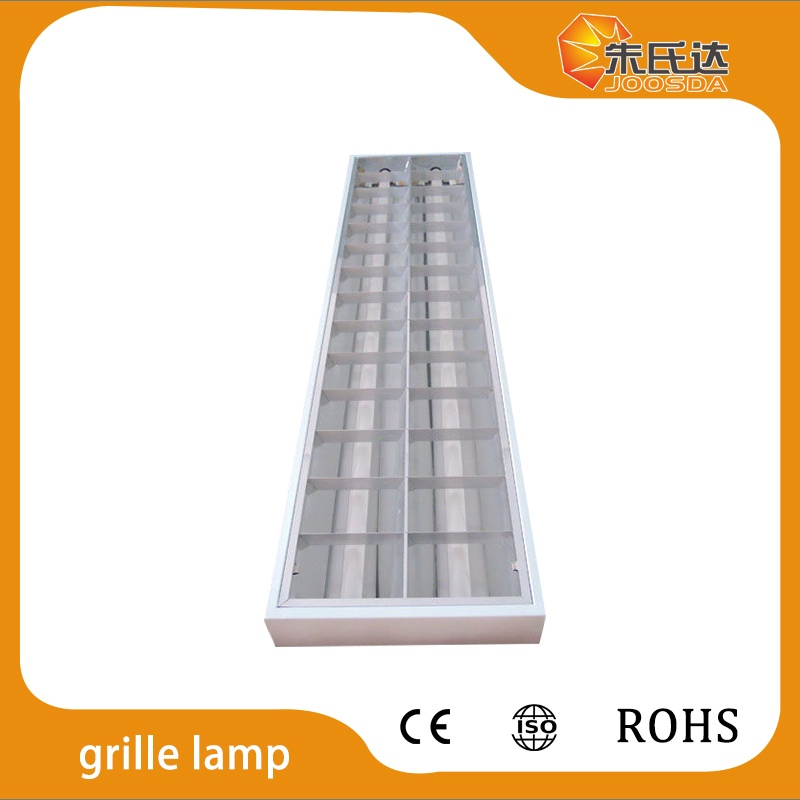 T8 LED Grille Lamp 2*36w fixture with louver